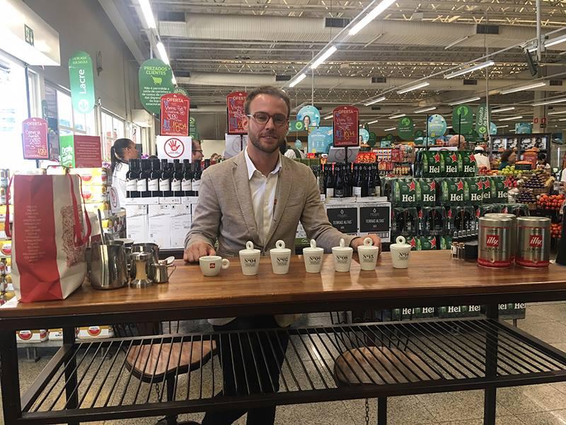barista italiano Stefano Giannini, da Illy