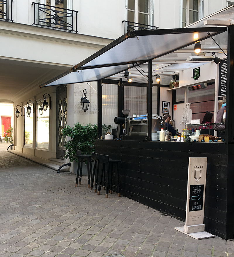 Guia de cafeterias em Paris