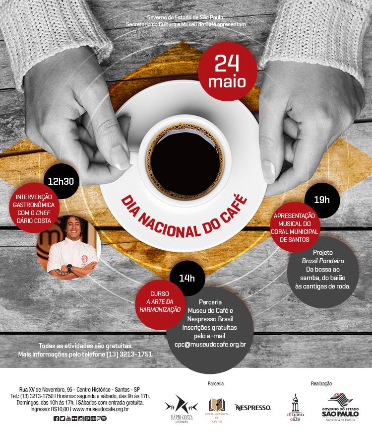 Museu do Café - Dia Nacional do Café