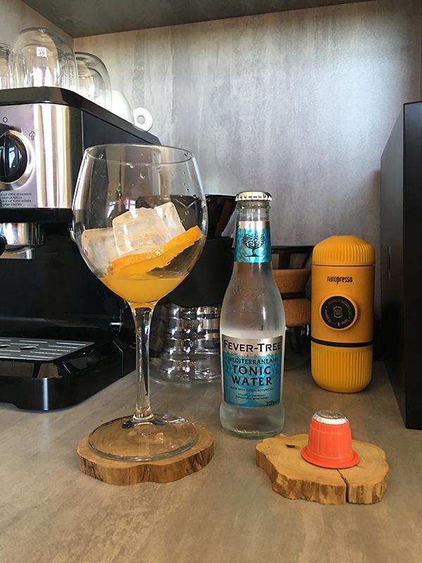 Receita de Espresso Tônica, indicada para dias quentes.