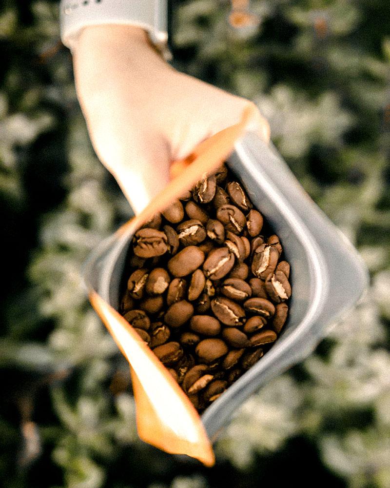 Finalmente provamos o Kona Coffee